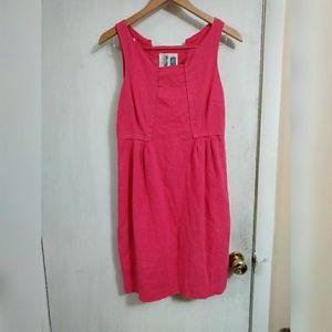 Anthropologie Edmé and Esyllte pink dress